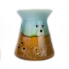 Aromalampa květinový vzor Rustik