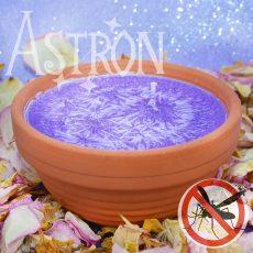 Levandule - vonná svíčka s repelentním účinkem